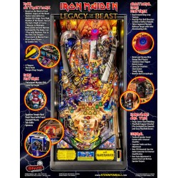 Stern Flipper Iron Maiden Pro PF4 Fun House Games kaufen